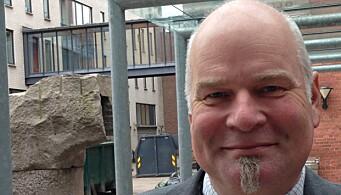 Hovedtillitsvalgt Erik Dahlgren i Forskerforbundet ved OsloMet..