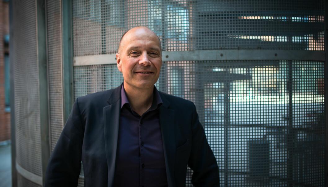 Høgskolen har fått en klagesak mot seg, men assisterende direktør Torbjørn Eeg Larsen forteller at de føler seg trygg på både prosess og leverandør som ervalgt. Foto: Skjalg Bøhmer Vold