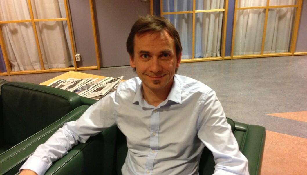 Forskningsdirektør Christen Krogh melder overgang til Norges Forskningsråd bare 13 måneder etter at han begynte påHiOA. Foto: Eva Tønnessen