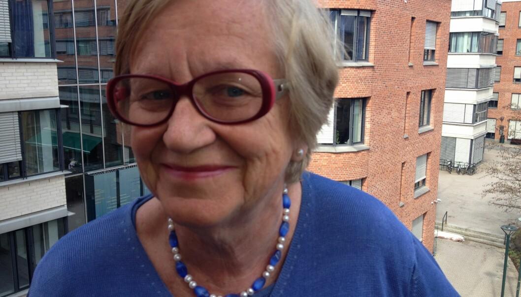 Hovedtillitsvalgt Vera Berg sier at Forskerforbundet har advart mot eldrebølgen i mangeår. Foto: Tove Lie