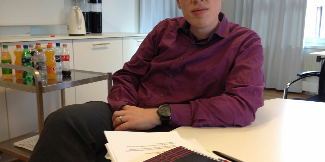 Frode Eika Sandnes er ikke fornøyd med at forskningsmidlene til sterke forskningsgrupper ikke ble delt ut, blant annet fordi flere av medlemmene i utvalget varinhabile. Foto: Tove Lie