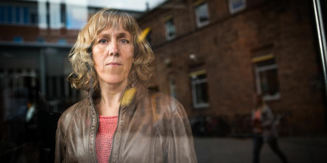 Therese Brovold, fysioterapeut og doktorgradsstipendiat ved Fakultet for helsefag, skal levere doktorgradsavhandlinga si om eldre og helse ved Universitetet i Oslo seinare iår. Foto: Skjalg Bøhmer Vold