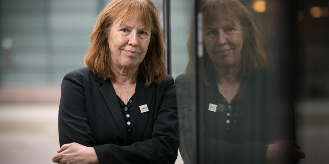 Professor Elisabeth Eide ved Institutt for journalistikk og mediefag,HiOA. Foto: Skjalg Bøhmer Vold