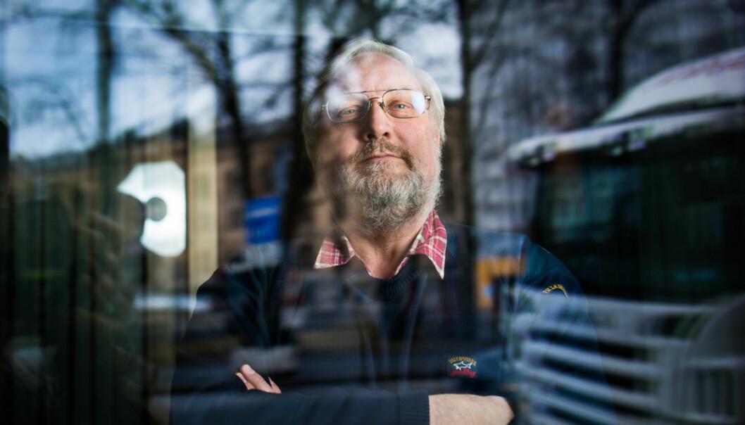 Lars Gule har ingen klare råd til hva ledelsen ved HiOA bør konkludere med, men har forståelse for at de må bruke tid på å vurdere søknaden fra Islam NetStudent. Foto: Skjalg Bøhmer Vold