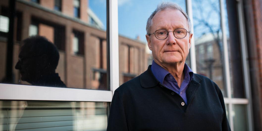 Etter å ha tvilt seg fram i flere år, vil professor Steinar Stjernø heller ha ansatt enn valgt rektor vedHiOA. Foto: Skjalg Bøhmer Vold
