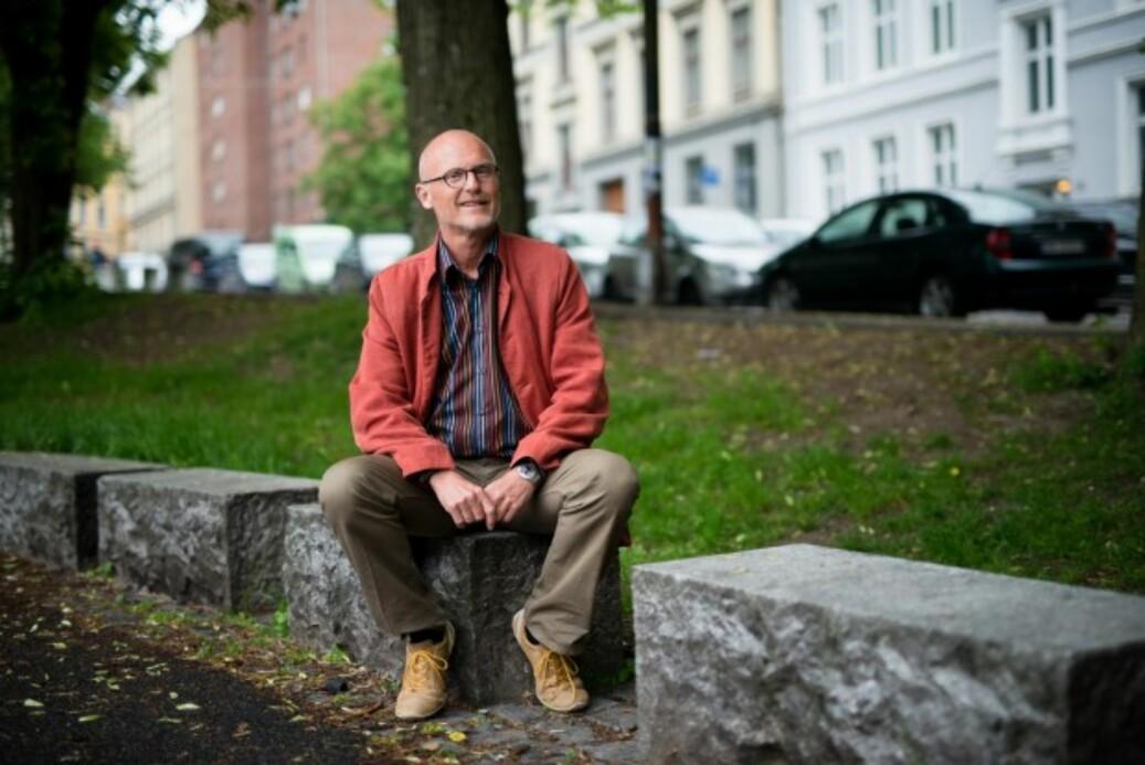 Biblioteksdirektør Lars Egeland ved OsloMet har sett på hva som skal til for å få studentene til å jobbe best på campus. Foto: Skjalg Bøhmer Vold