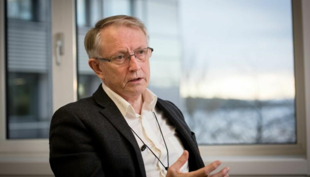 Arvid Hallén er styreleder ved Høgskulen på Vestlandet er er oppnevnt for en ny periode. Foto: Skjalg Bøhmer Vold