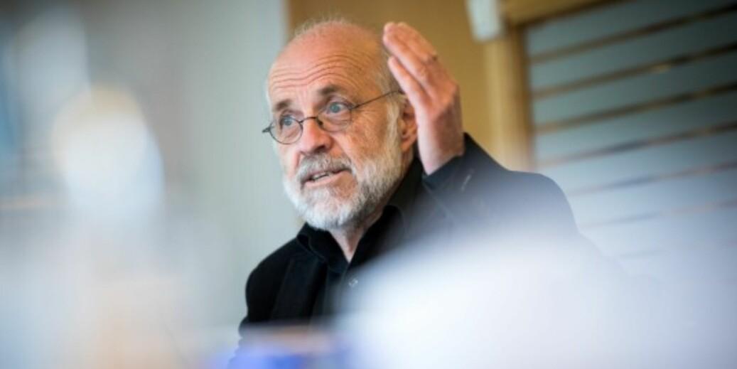 Petter Aasen er rektor ved Universitetet i Sørøst-Norge. Han er skeptisk til store, offisielle delegasjonsreiser for akademisk samarbeid, og særlig til land med store demokrati- og korrupsjonsutfordringer. Foto: Skjalg Bøhmer Vold