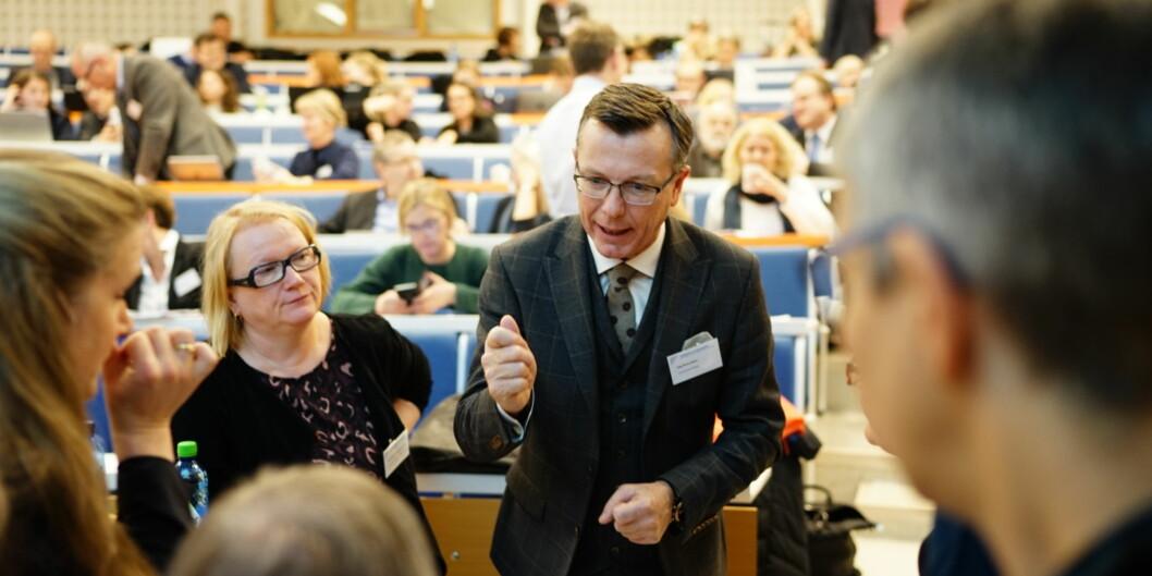 Rektor ved Universitetet i Bergen, Dag Rune Olsen, vil at ansatte skal melde fra om seksuell trakassering. Foto: Ketil BlomHaugstulen