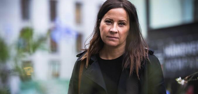 Heidi Helene Sveen mener det er problematisk at ansatte kan stikke av fra varslingssaker. Foto: Siri Ø. Eriksen