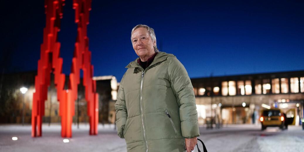 Rektor Kathrine Skretting har fått på plass hele toppledelsen ved Høgskolen i Innlandet. Torsdag ble den siste prorektoren og viserektor ansatt. Foto: Ketil Blom Haugstulen