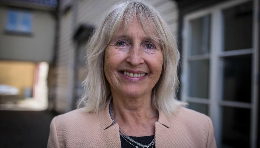 Rektor Marit Boyesen ved Universitetet i Stavanger gleder seg over økning i avlagte doktorgrader. Foto: Siri Øverland Eriksen