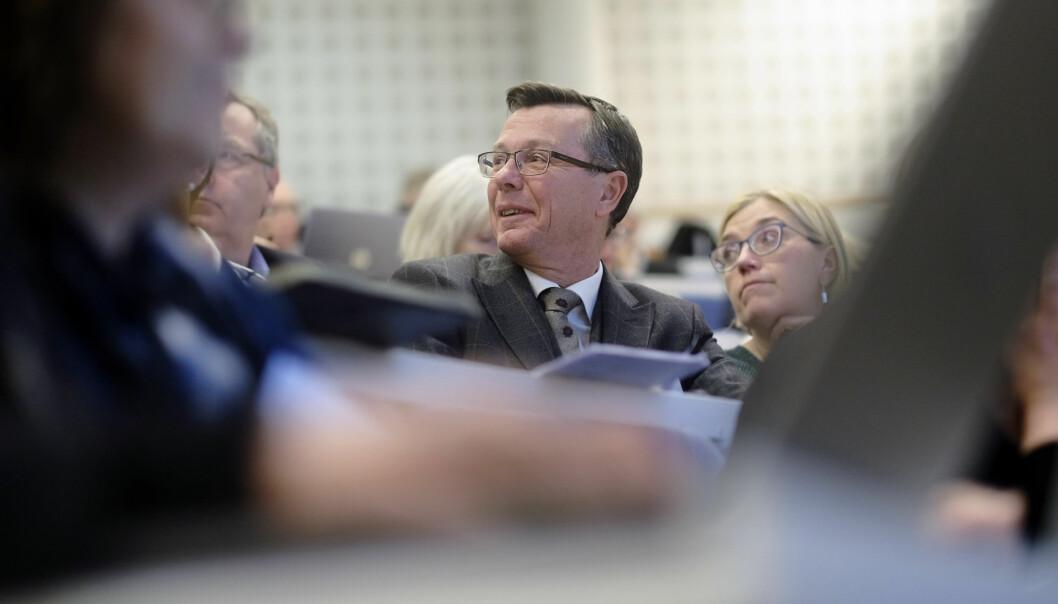 Erfaringen til rektor Dag Rune Olsen ved Universitetet i Bergen er at arbeid med prosjektsøknader ikke er bortkastet, selv om søknaden ikke blir innvilget. Foto Ketil Blom Haugstulen