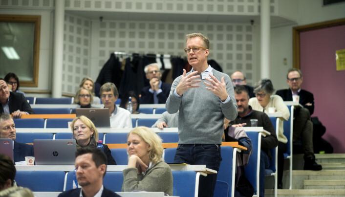 Curt Rice, rektor ved Høgskolen i Oslo og Akershus. Foto: Ketil Blom Haugstulen