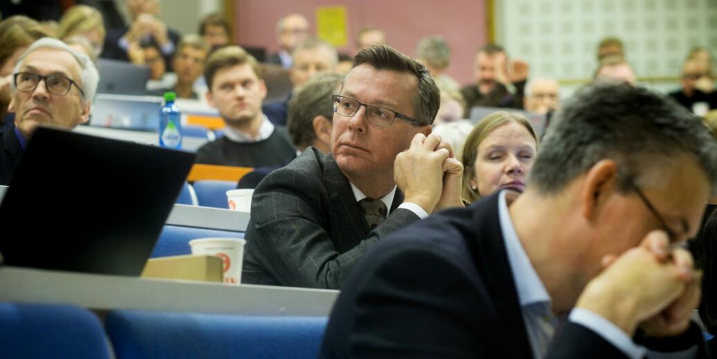 Universitetet i Bergen-rektor Dag Rune Olsen skriver at de ikke har hatt synlige eller gode nok rutiner for seksuell trakassering. Foto: Ketil Blom Haugstulen