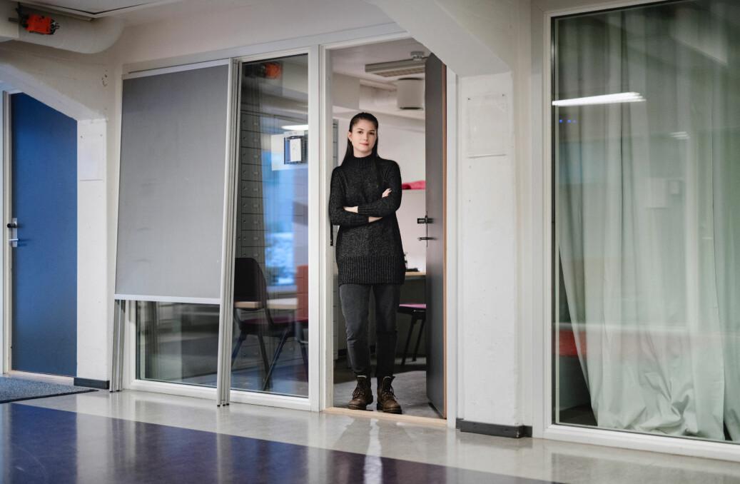 Kristine Løvold har passet på journalrommet ved internklinikken på Psykologisk institutt ved Universitetet i Oslo. Foto: Fartein Rudjord