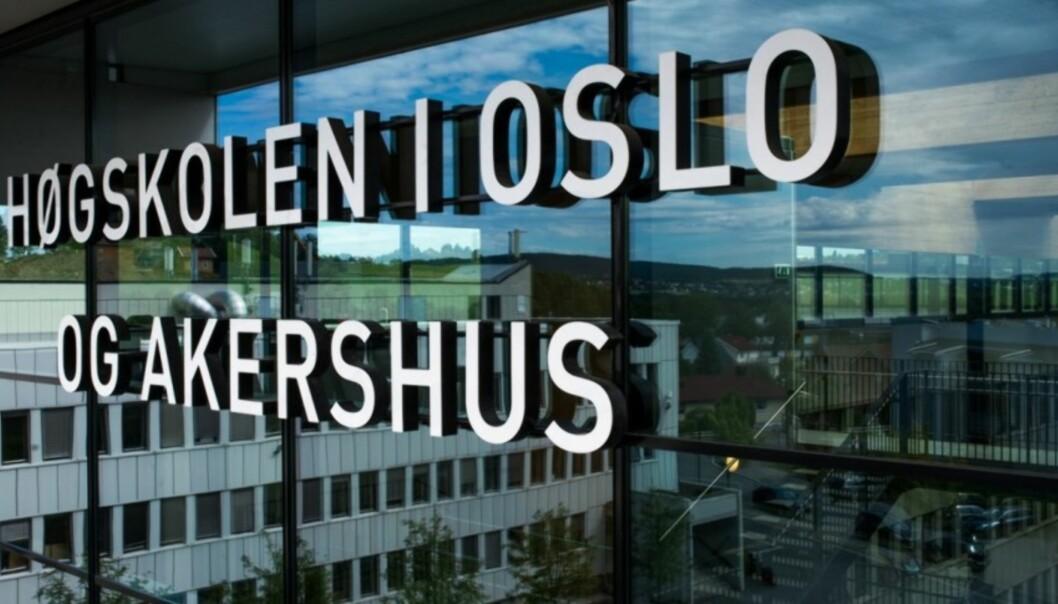 Over to år har Høgskolen i Oslo og Akershus brukt på å finne et navn til høgskolen når de blir universitet. 15.desember skal avgjørelsen tas internt. Foto: Skjalg Bøhmer Vold