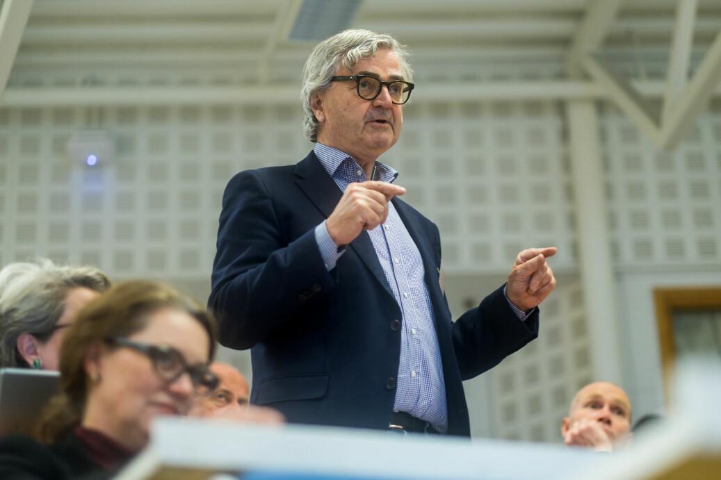 Petter Aaslestad, leder i Forskerfobundet er skeptisk til foretaksmodell generelt og det arbeidet departementet har igangsatt rundt dette spesielt.
