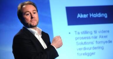 HiOA må spørre Kjell Inge Røkke om lov hvis de skal kalle seg Aker universitet. Foto: NTNB scanpix