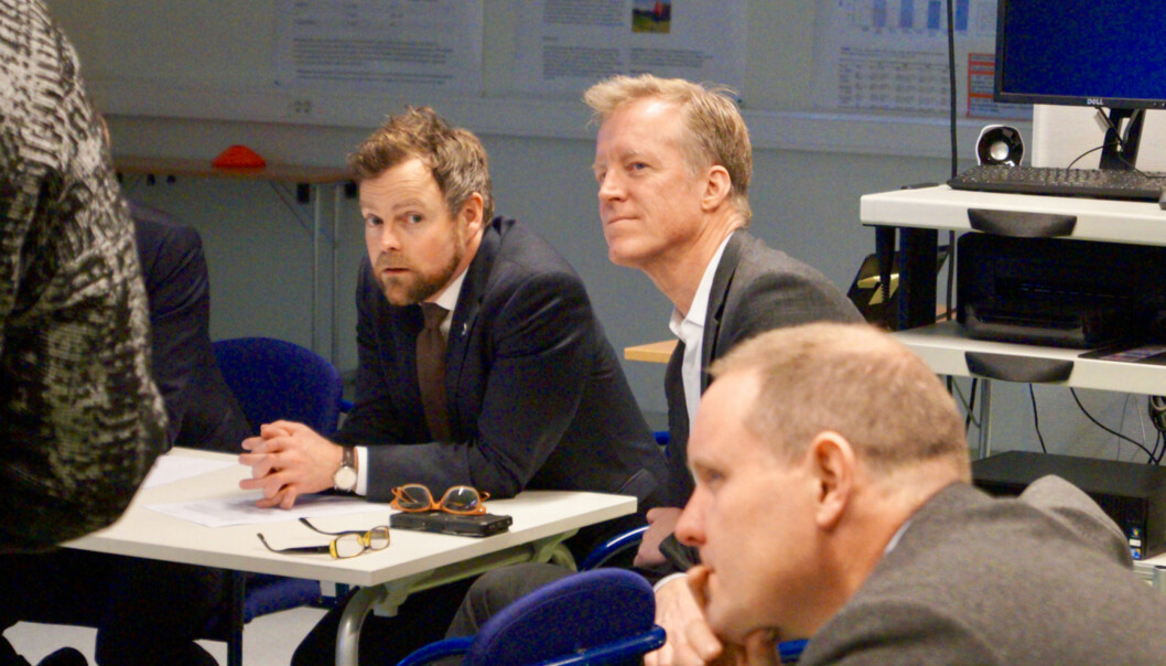 Kunnskapsminister Torbjørn Røe Isaksen skal i 2018 legge fram forslag i statsråd om å gjere Høgskulen i Oslo og Akershus til universitet. Foto: Øystein Fimland