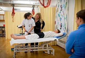 Mistillit og store konflikter ved fysioterapi på HiOA