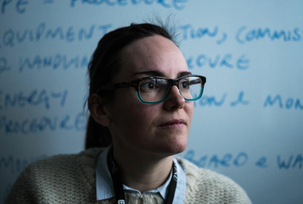 Forsker Nuria Espallargas ville forske - ikke lede en bedrift. Foto: David Engmo