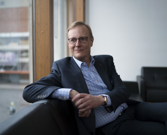Rektor Peter Tornquist ved Norges musikkhøgskole.