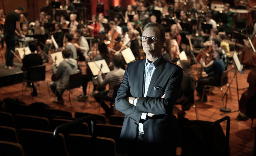 Rektor Peter Tornquist ved Norges musikkhøgskole. Foto: Ketil Blom Haugstulen