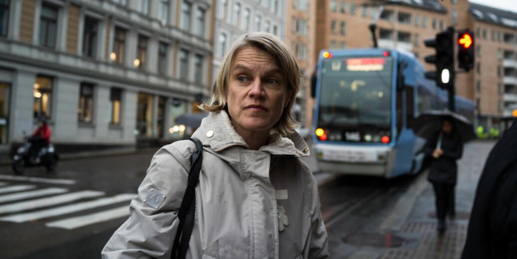 Utdanningskomitémedlem på Stortinget, Nina Sandberg, kaller regjeringens avgiftsøkning for utenlandske studenter for skolepenger. Foto: David Engmo