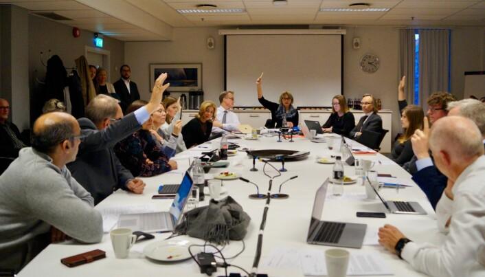 Her er det 6-5 i styret på HiOA for OsloMet – Storbyuniversitetet.