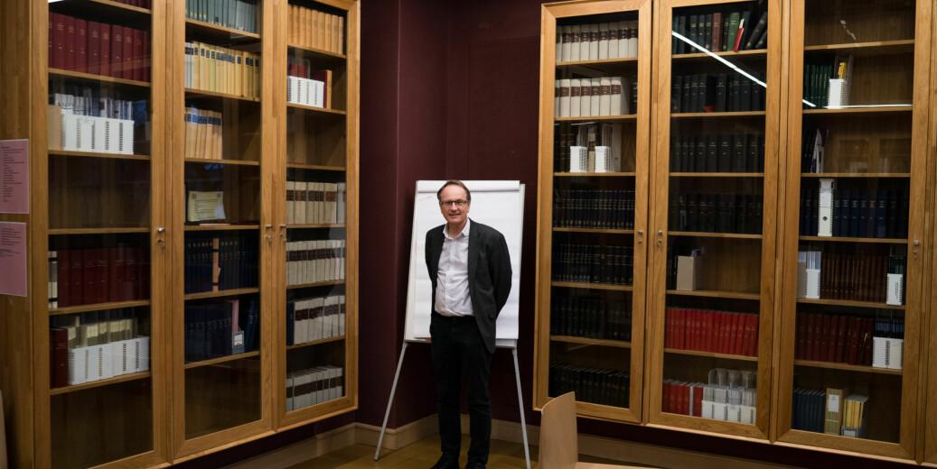 Dekan på juridisk fakultet, Dag Michalsen. Foto: David Engmo