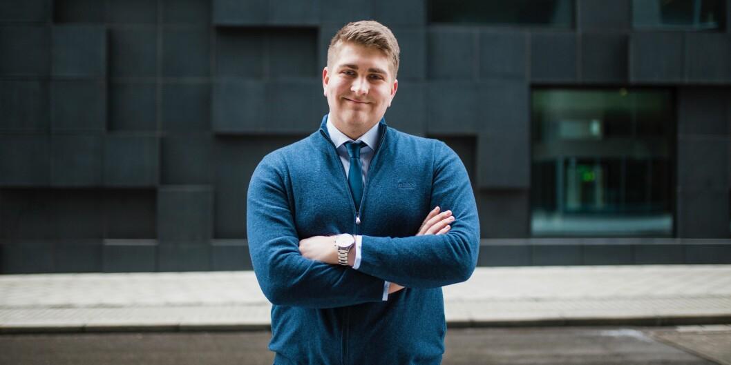 Emil Lundal på BI har konkrete ønsker både til kunnskapsministeren, byrådsledere i Oslo og rektor på BI for 2018.