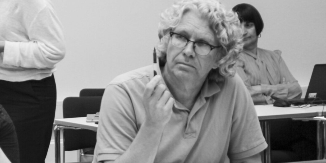 Tom Skauge er instituttleder og styremedlem på Høgskulen i Vestlandet. Foto: Ida Bergstrøm/På Høyden