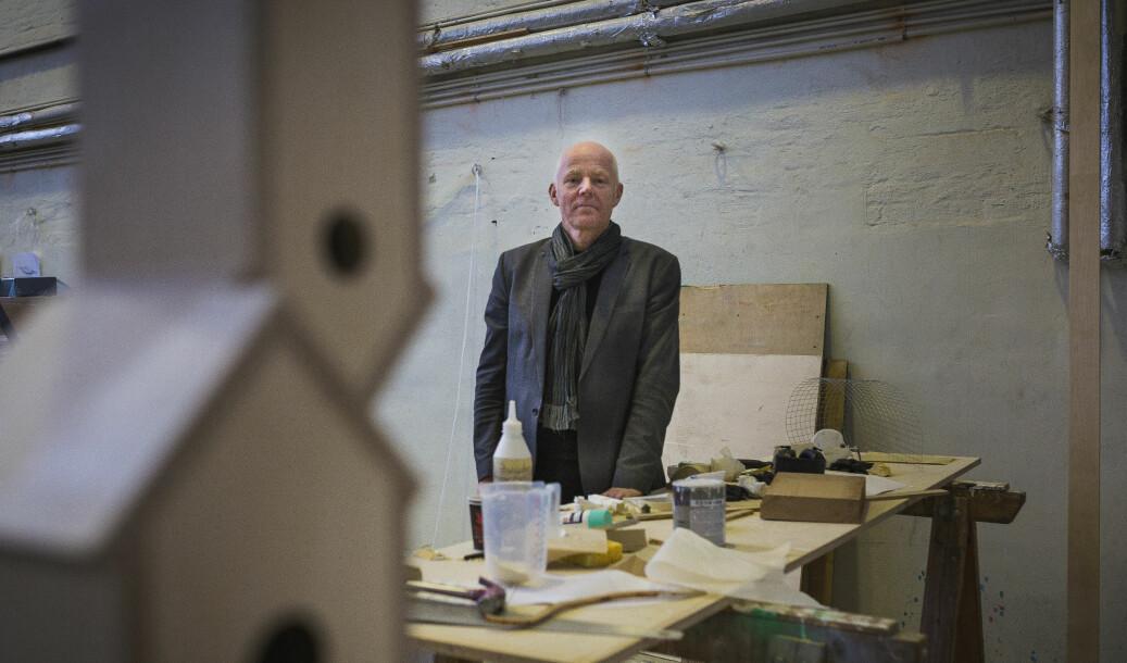 Rektor Ole Gustavsen ved Arkitektur- og designhøgskolen i Oslo mener at høgskolen er stor nok og ser ingen gode grunner for fusjon.
