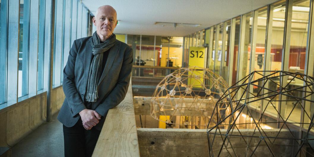 Rektor Ole Gustavsen ved Arkitektur- og designhøgskolen mener at tilbakemeldingen fra NOKUTs sakkyndige alt i alt er god, til tross for at det er påpekt mangler ved kvalitetsarbeidet. Foto: Siri Ø. Eriksen