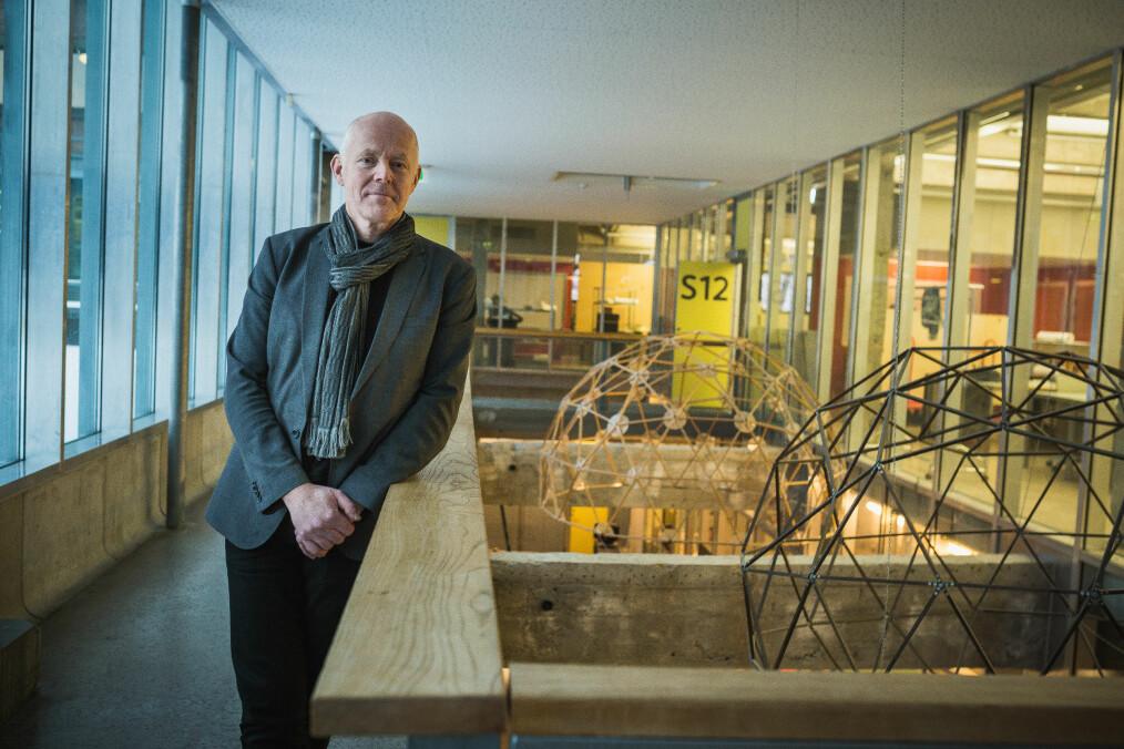 Rektor Ole Gustavsen ved Arkitektur- og designhøgskolen i Oslo (AHO).