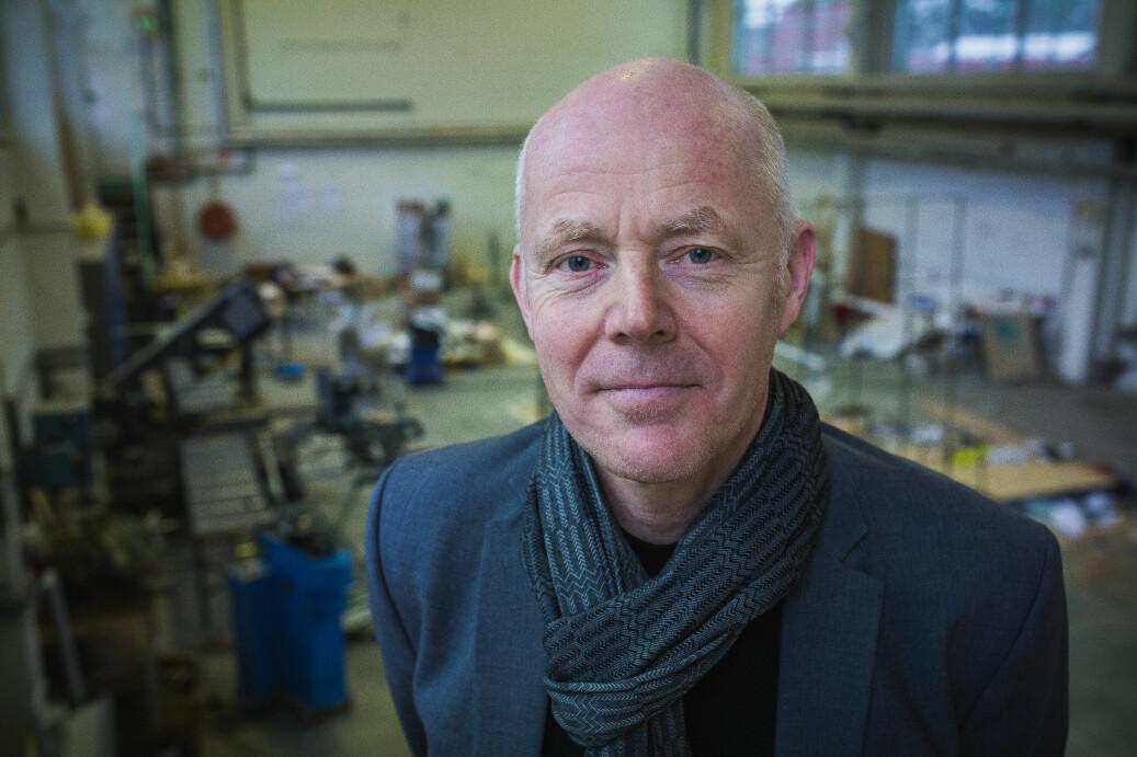 Rektor Ole Gustavsen ved Arkitektur- og designhøgskolen i Oslo vurderer samarbeid med andre i Oslo om studentombud. Foto: Siri Øverland Eriksen