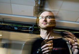 Forsker på musikk - ved å stå stille