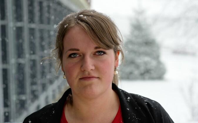 Daglig leder i Norsk Målungdom, Eline Bjørke. Foto: Norsk Målungdom