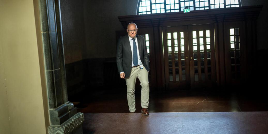 Rektor ved NTNU, Gunnar Bovim, er blant de som støtter kampanjen. Foto: Skjalg Bøhmer Vold