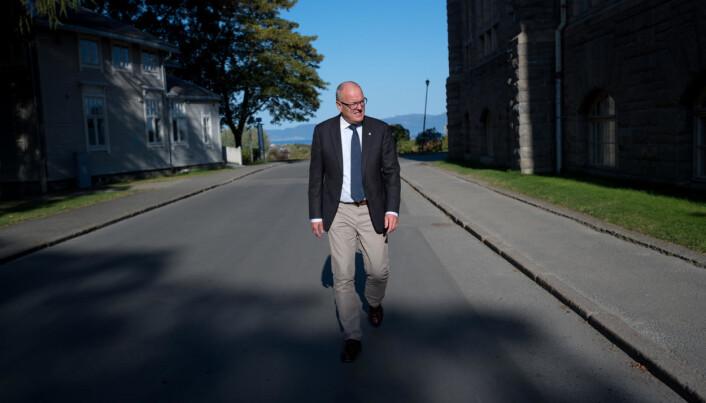 Dette betyr at universitetene har en sterk rolle i samfunnet, noe som er veldig bra, sier Gunnar Bovim. Foto: Skjalg Bøhmer Vold