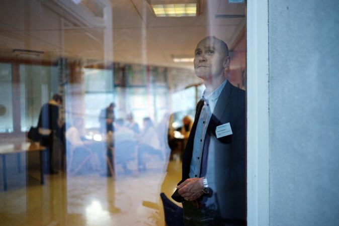 Steinar Kristoffersen, rektor Høgskolen i Molde. Foto: Ketil Blom Haugstulen