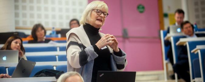 Rektor HVL, Berit Rokne. Foto: Ketil Blom Haugstulen