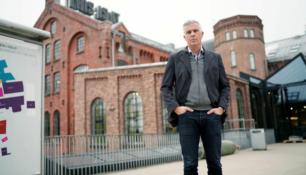 Rektor på Kunsthøgskolen i Oslo forteller til Morgenbladet om to nye varsler de har mottatt i sommer. Foto: Ketil Blom Haugstulen