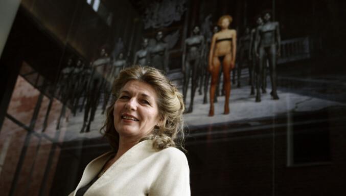 Cecilie Broch Knudsen, rektor på Kunsthøgskolen i Oslo, 2007-2015. Foto: NTB/scanpix