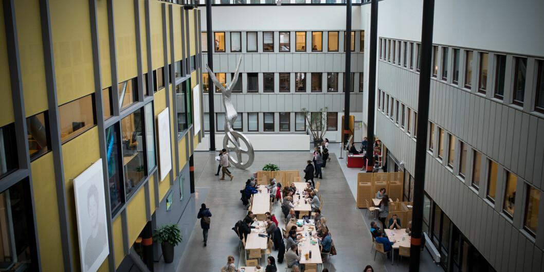 Det er fortsatt ikke avklart om OsloMet faktisk blir på Campus Kjeller, gikk det fram av styremøtet på OsloMet torsdag. Foto: Skjalg Bøhmer Vold