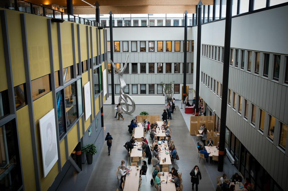 Fra HiOAs lokaler på Kjeller. Foto: Skjalg Bøhmer Vold