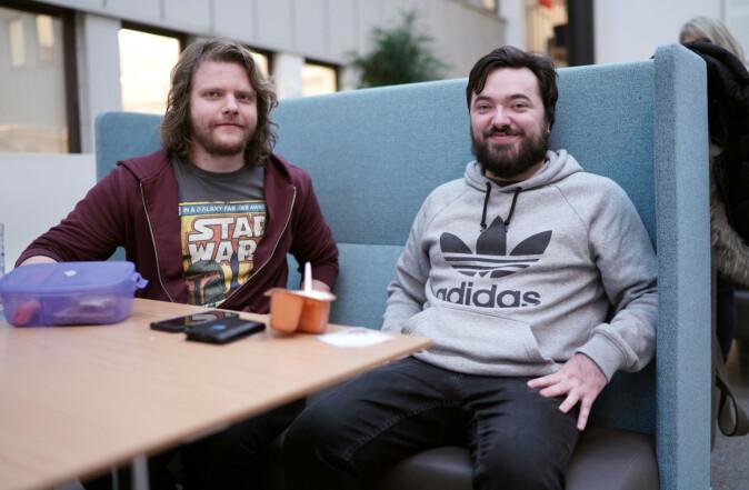 Lars Gundersen (t.v.) og Morten Lunde. Foto: Ketil Blom Haugstulen