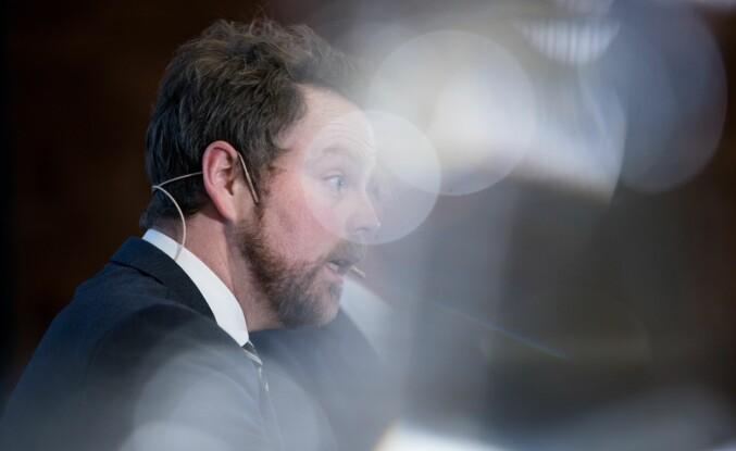 En mulig-kanskje-atte-dersom-reform, kaller Torbjørn Røe Isaksen utredningen om foretaksmodell i uh-sektoren. Foto: Skjalg Bøhmer Vold