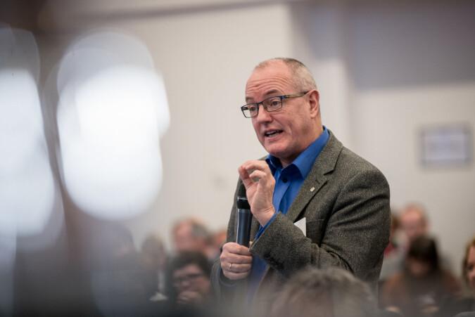 NTNU-rektor, Gunnar Bovim. Foto: Skjalg Bøhmer Vold
